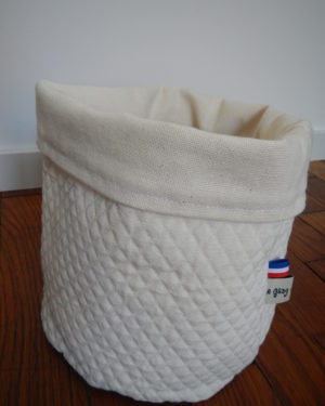 Corbeilles en tissu Very White