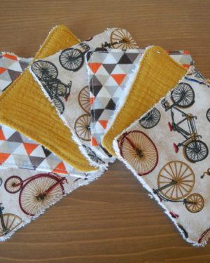 Lingettes Lavables Bicycle Race